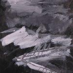 ohne Titel, WB-P 10-11, Acryl auf Papier, 32 x 24 cm